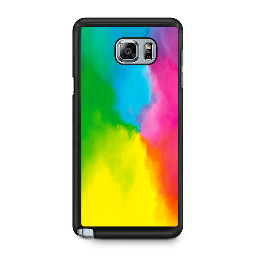Rainbow Tie Dye Samsung Galaxy Note 5 case