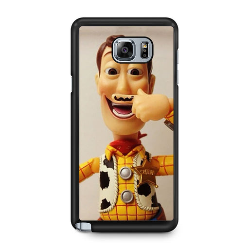 Woody Mustache Toy Story Samsung Galaxy Note 5 case