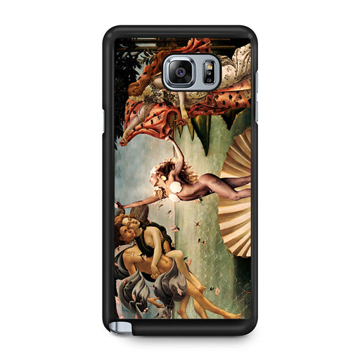 Venus Lady Gaga Painting Samsung Galaxy Note 5 case