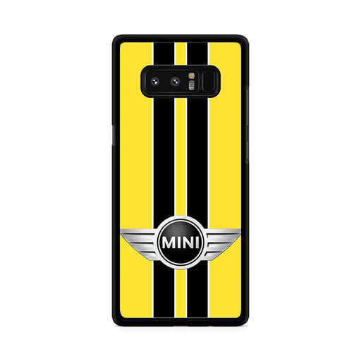 Mini Cooper Style Yellow Samsung Galaxy Note 8 case