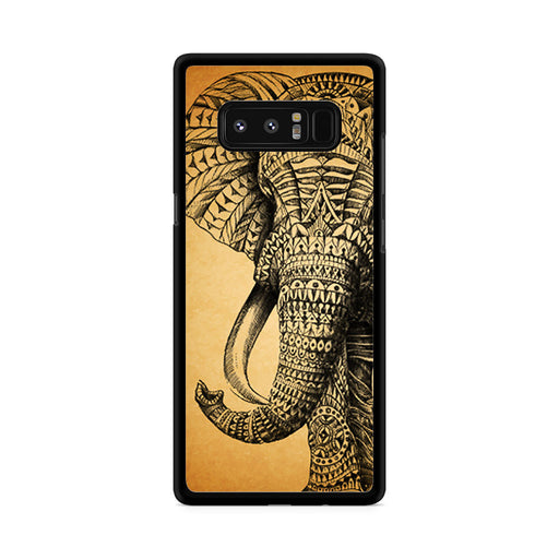 Zentangle Elephant Samsung Galaxy Note 8 case