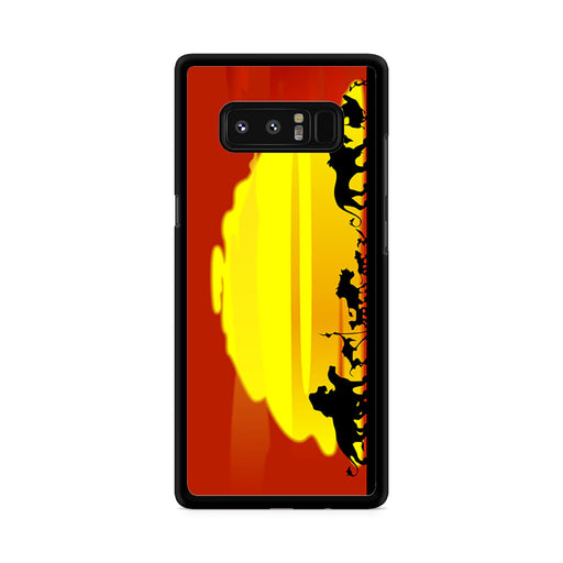 The Lion King Sunset Hakuna Matata Samsung Galaxy Note 8 case