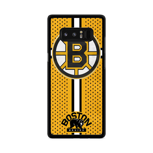 Custom Boston Bruins Hockey Samsung Galaxy Note 8 case