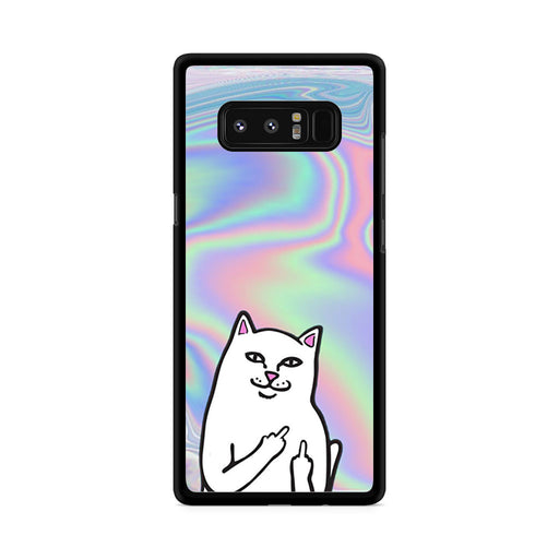 RipNDip Lord Nermal Cat Holographic Samsung Galaxy Note 8 case