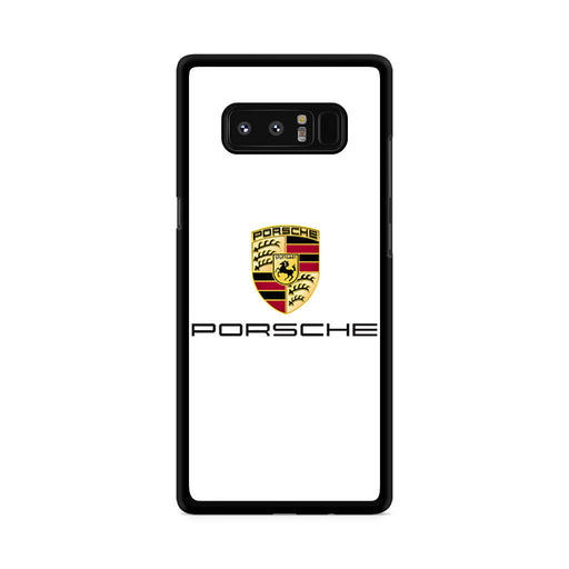 Porsche Logo Samsung Galaxy Note 8 case