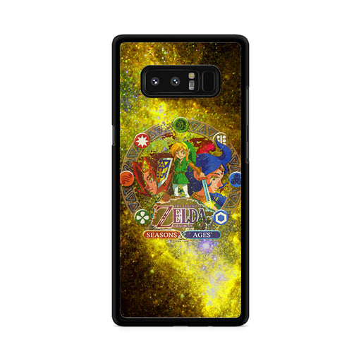 Zelda Seasons and Ages Samsung Galaxy Note 8 case