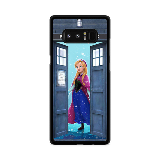 Tardis Disney Frozen Anna Samsung Galaxy Note 8 case