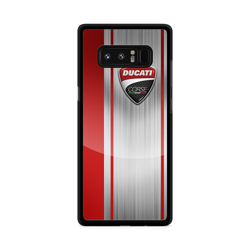 Ducati Corse Red Logo Samsung Galaxy Note 8 case