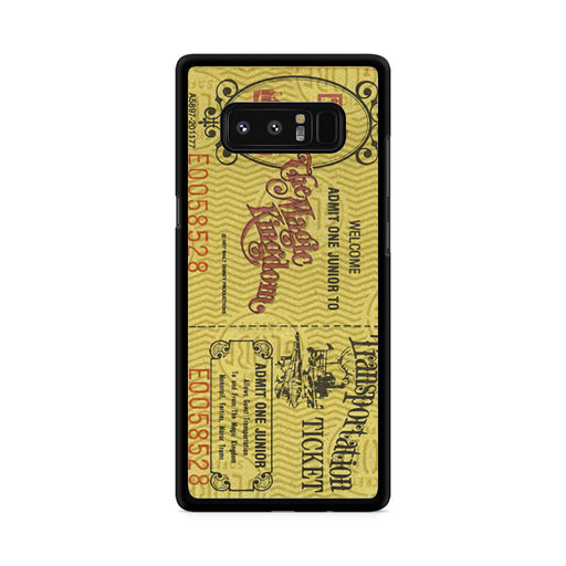 Transportation World Disney World Vintage Disneyland Samsung Galaxy Note 8 case