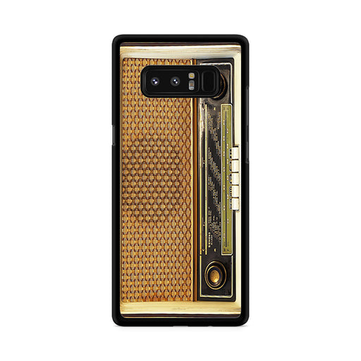 Retro Vintage Old Radio Samsung Galaxy Note 8 case