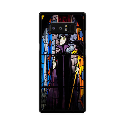 Maleficent Stained Glass Samsung Galaxy Note 8 case