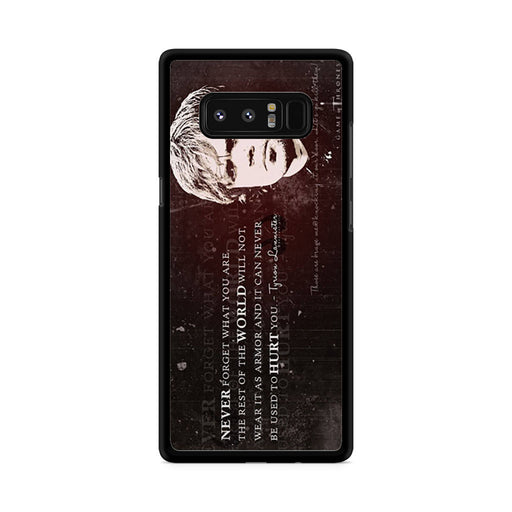 Tyrion Lannister Quote Samsung Galaxy Note 8 case