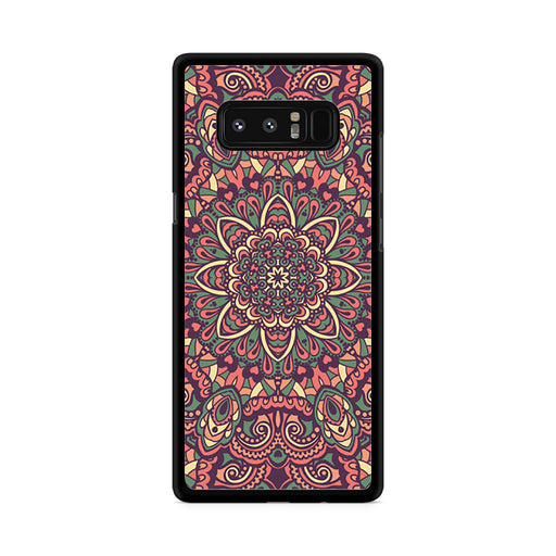 Seamless Mandala Flower Indian Bali Tribal Samsung Galaxy Note 8 case