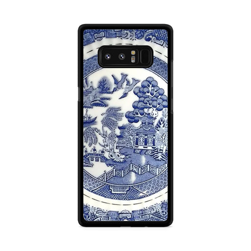 Blue Willow China Pattern Samsung Galaxy Note 8 case