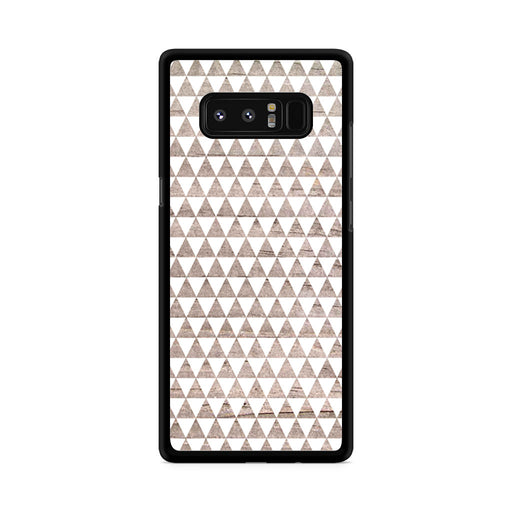 Wooden Triangle Geometric Pattern Samsung Galaxy Note 8 case