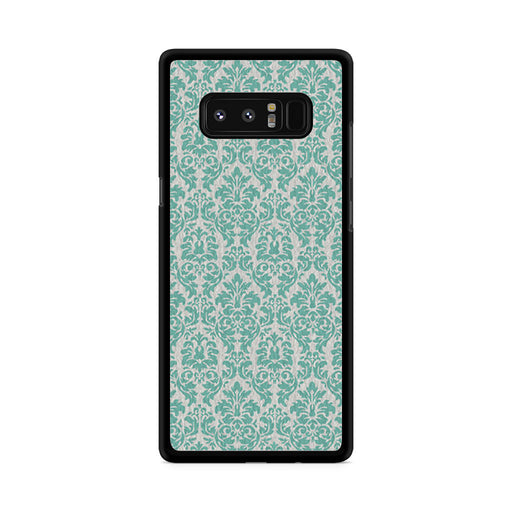 Teal Damask Samsung Galaxy Note 8 case