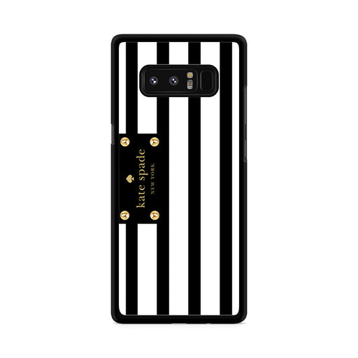 Kate Spade Stripes Black White Samsung Galaxy Note 8 case