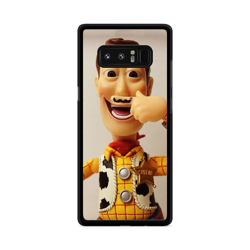 Woody Mustache Toy Story Samsung Galaxy Note 8 case