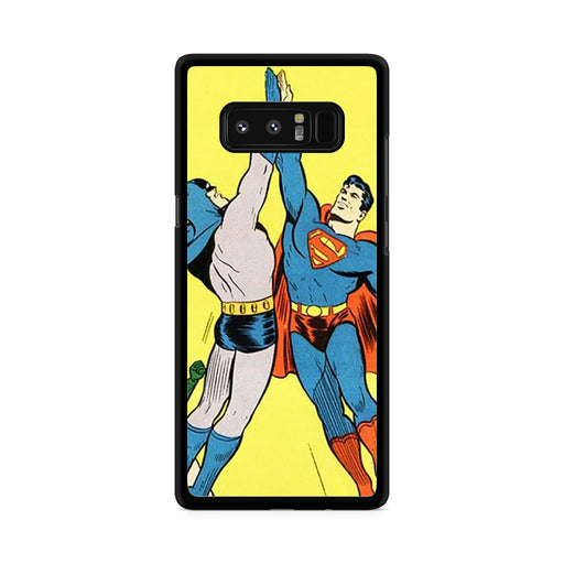 World's Finest Superman Batman Super High Five Samsung Galaxy Note 8 case