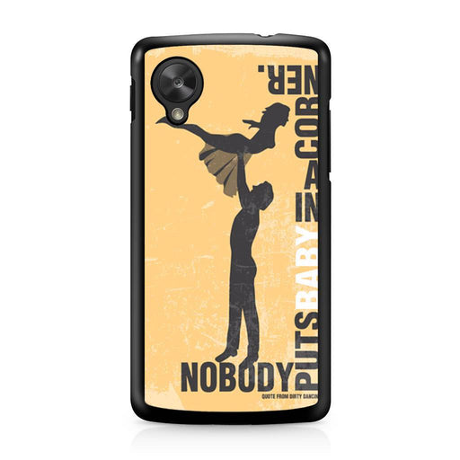 Dirty Dancing Movie Google Nexus 5 case
