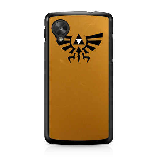 Zelda Triforce Golden Google Nexus 5 case