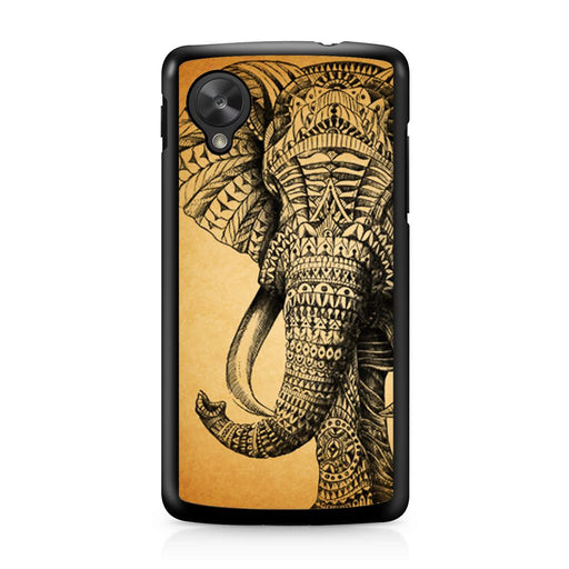 Zentangle Elephant Google Nexus 5 case