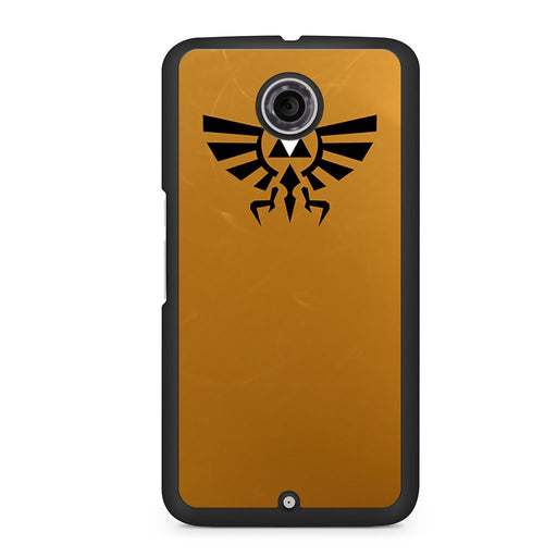 Zelda Triforce Golden Google Nexus 6 case