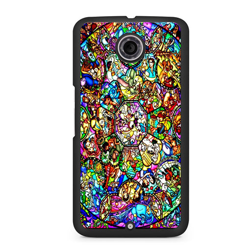 All Characters Disney Stained Glass Google Nexus 6 case