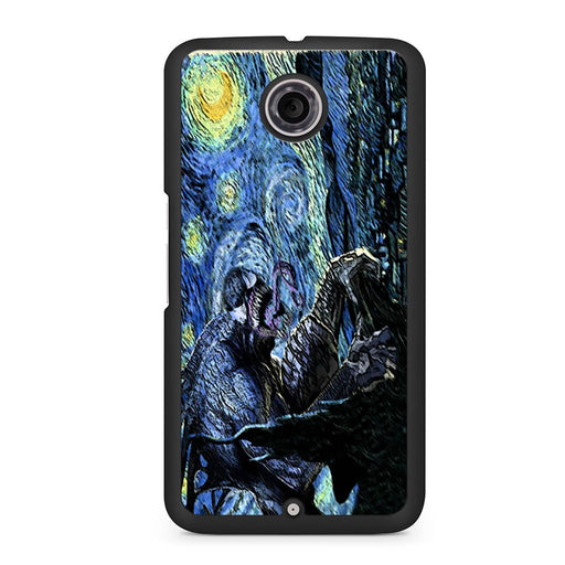 Starry Night Venom Spiderman Google Nexus 6 case