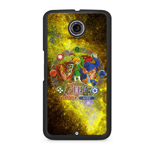 Zelda Seasons and Ages Google Nexus 6 case