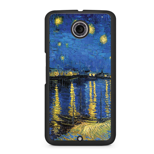 Van Gogh 1888 Starry Night Google Nexus 6 case