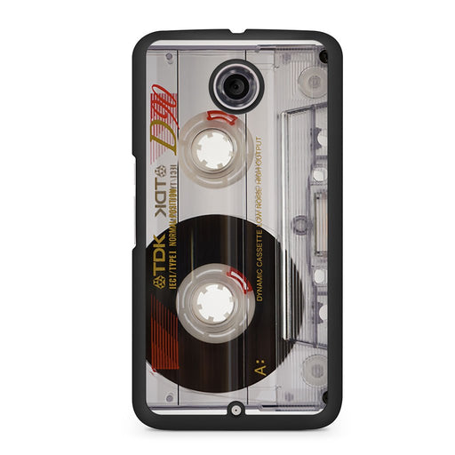 Retro Cassette Google Nexus 6 case