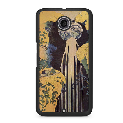 Hokusai - The Waterfall Google Nexus 6 case