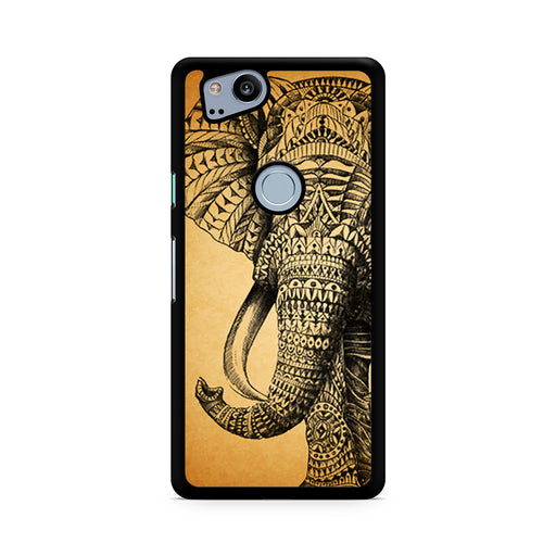 Zentangle Elephant Google Pixel 2/Pixel 2 XL case