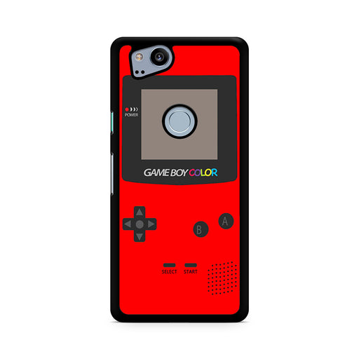 Gameboy Red Color Google Pixel 2/Pixel 2 XL case