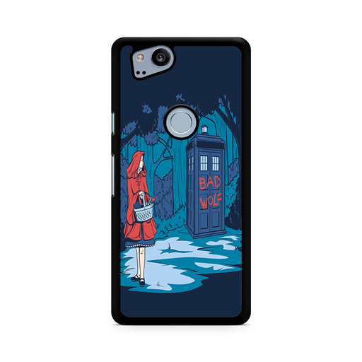 Tardis Dr Who Little Red Riding Hood Google Pixel 2/Pixel 2 XL case
