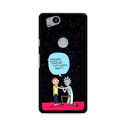 Rick and Morty Science Art Quote Google Pixel 2/Pixel 2 XL case
