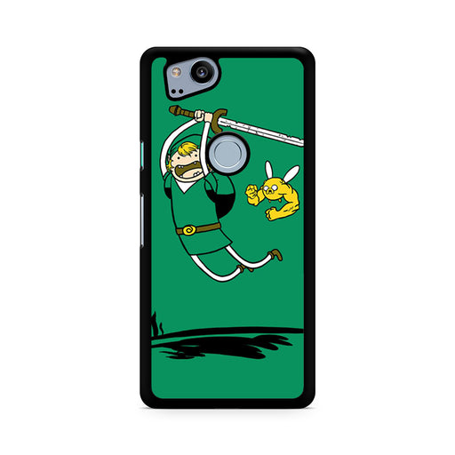 Zelda Adventure Time Zelda Finn and Jake Google Pixel 2/Pixel 2 XL case
