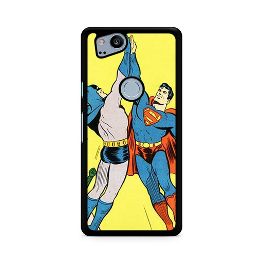 World's Finest Superman Batman Super High Five Google Pixel 2/Pixel 2 XL case