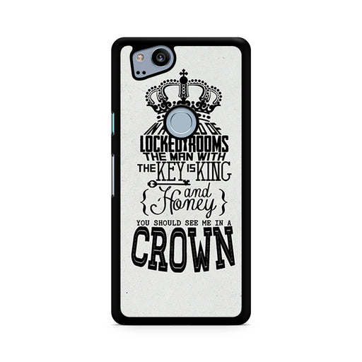 You Should See Me In A Crown Moriarty Quote Google Pixel 2/Pixel 2 XL case