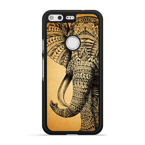 Zentangle Elephant Google Pixel case