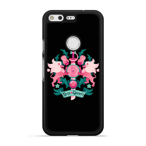 Steven Universe Rose Quartz Lion Google Pixel case