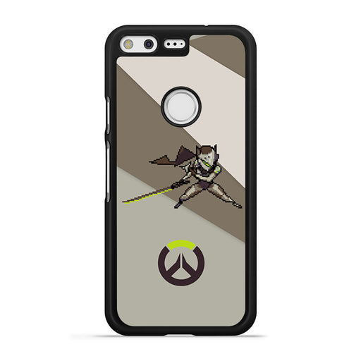 Overwatch Genji Pixel Spray Google Pixel case