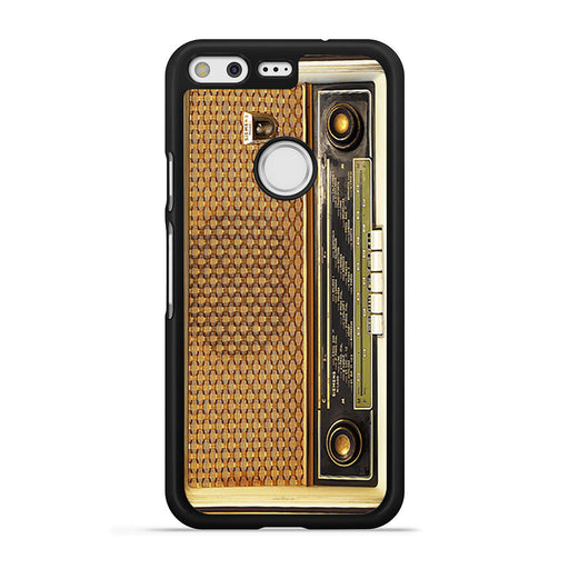 Retro Vintage Old Radio Google Pixel case