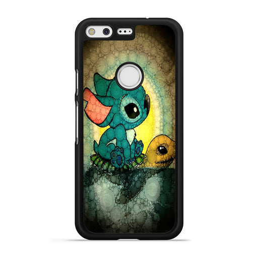 Stitch Stained Glass Google Pixel case