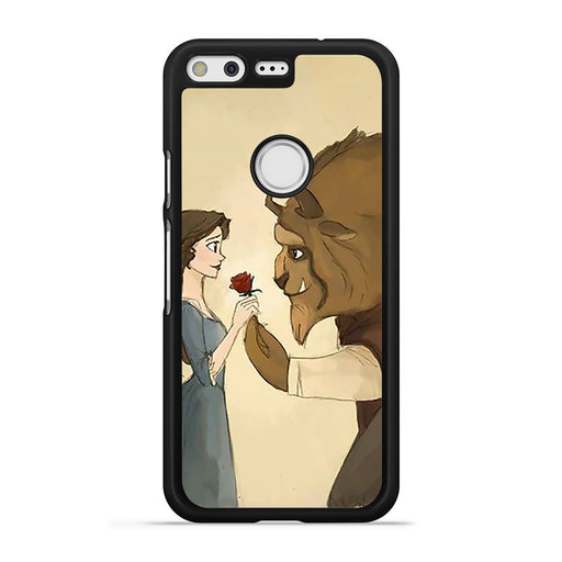 Love Beauty and The Beast Google Pixel case