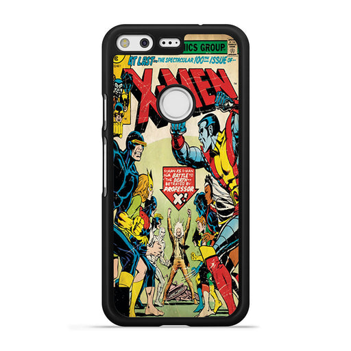 X-Men Retro Comic Book Google Pixel case
