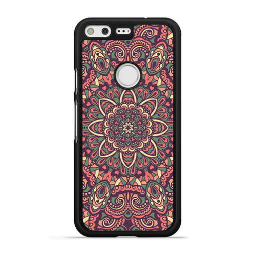 Seamless Mandala Flower Indian Bali Tribal Google Pixel case
