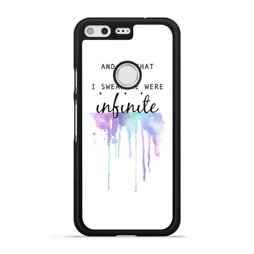 The Perks of Being a Wallflower Quote Google Pixel case