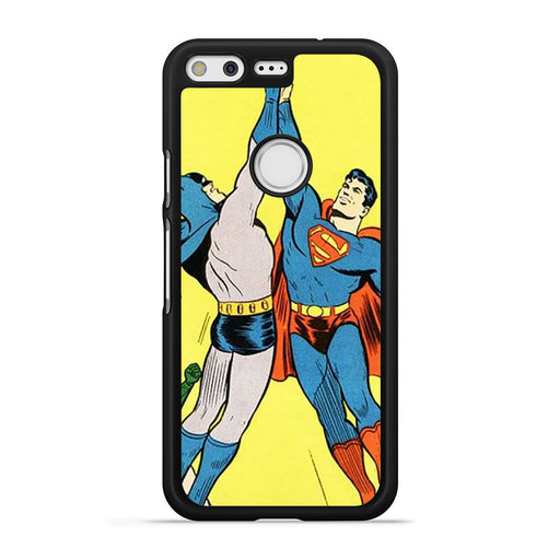 World's Finest Superman Batman Super High Five Google Pixel case